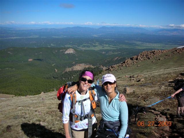 hiking pikes peak